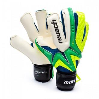 Glove  Reusch Waorani Deluxe Pro A2 SMU Gorka Iraizoz Yellow-Green