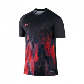 Camiseta  Nike Graphic Training CR7 Black-White-Total crimson-Purple