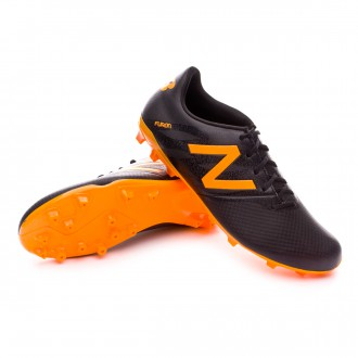 Chuteira  New Balance Furon Dispatch FG Black-Orange