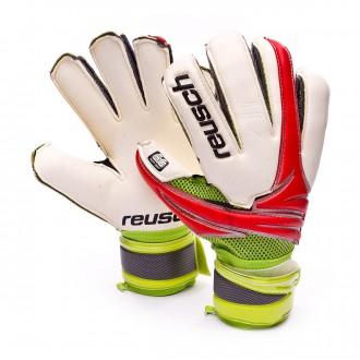 Gant  Reusch Argos Pro SG Blanc-Rouge-Lime
