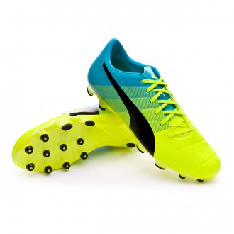 Bota  Puma evoPOWER 3.3 AG Safety yellow-Black-Atomic blue