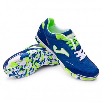 Zapatilla  Joma Top Flex Royal-Blanco-Verde