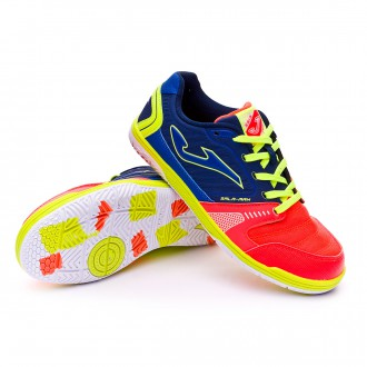 Boot  Joma jr Sala Max Orange-Navy blue