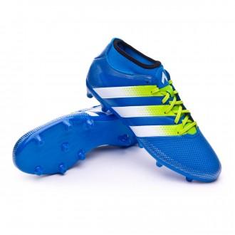 Boot  adidas Ace 16.3 Primemesh FG/AG Shock blue-Semi solar slime-White
