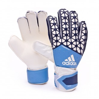 Guante  adidas jr Ace Fingersave Azul-Negro