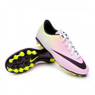 Boot  Nike jr Mercurial Victory V AG White-Volt-Total orange