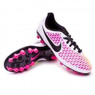 Bota  Nike jr Magista Onda AG White-Pink blast-Volt