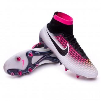 Bota  Nike Magista Obra ACC SG-PRO White-Pink blast-Volt