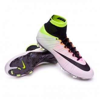 Boot  Nike Mercurial Superfly ACC FG White-Volt-Total orange