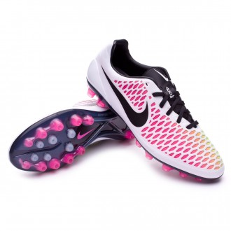 Boot  Nike Magista Opus ACC AG-R White-Pink blast-Volt