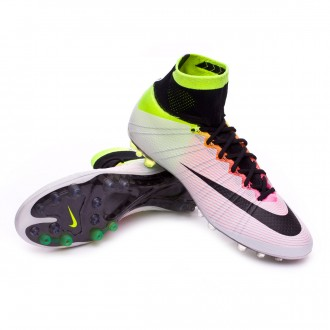 Boot  Nike Mercurial Superfly ACC AG-R White-Volt-Total orange