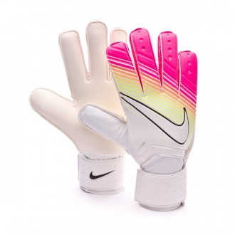 Guante  Nike Match White-Pink blast