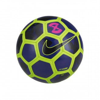 Ball  Nike FootballX Clube Volt-Deep royal blue