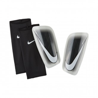 Shinpads  Nike Mercurial Lite Black-Metallic silver