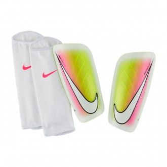 Shinpads  Nike Mercurial Lite White-Multicolor