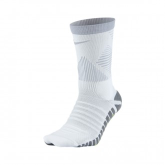 Chaussettes  Nike Strike Mercurial White-Wolf grey