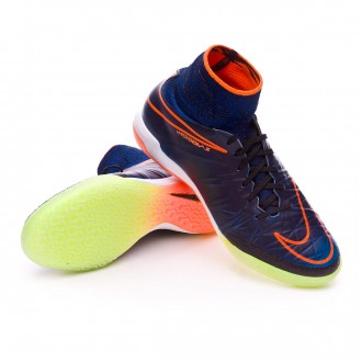 Zapatilla de fútbol sala  Nike jr HyperVenomX Proximo IC Black-Total orange-Black