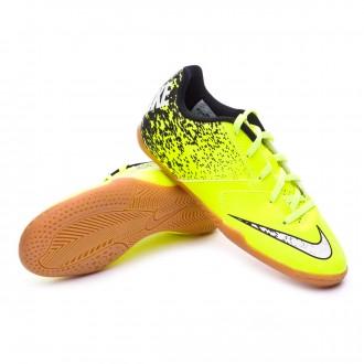 Zapatilla de fútbol sala  Nike jr BombaX IC Volt-Black