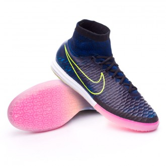Zapatilla  Nike MagistaX Proximo IC Black-Volt-Racer blue
