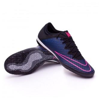 Zapatilla de fútbol sala  Nike MercurialX Finale IC Navy-Black-Pink blast