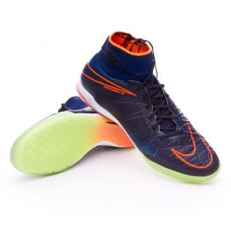Boot  Nike HyperVenomX Proximo IC Black-Total orange-Black