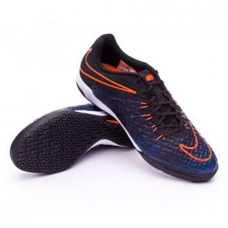 Zapatilla de fútbol sala  Nike HyperVenomX Finale IC Black-Total orange-Black
