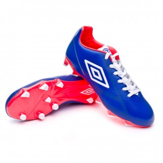 Boot  Umbro Velocita Club HG Dazzing blue-White-Fiery coral