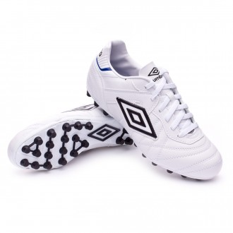 Bota  Umbro Speciali Eternal Club AG White-Black-Clematis blue
