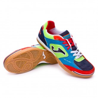 Boot  Joma Top Flex Flúor-Navy blue-Red-Blue
