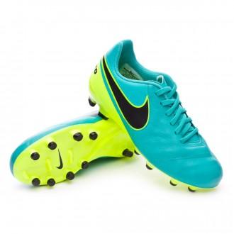 Boot  Nike jr Tiempo Legend VI ACC FG Clear jade-Black-Volt