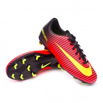 Boot  Nike jr Mercurial Vapor XI ACC FG Total crimson-Volt-Black-Pink blast