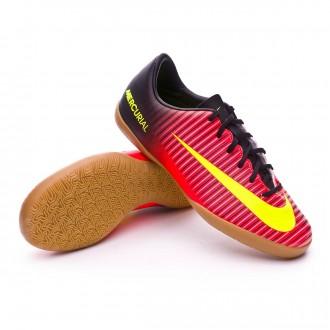 Boot  Nike jr Mercurial Vapor XI IC Total crimson-Volt-Black-Pink bast