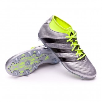 Boot  adidas Ace 16.2 Primemesh FG/AG Silver metallic-Black-Solar yellow