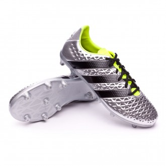 Chaussure  adidas Ace 16.3 FG Silver metallic-Black-Solar yellow
