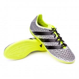 Boot  adidas Ace 16.3 IN Silver metallic-Black-Solar yellow
