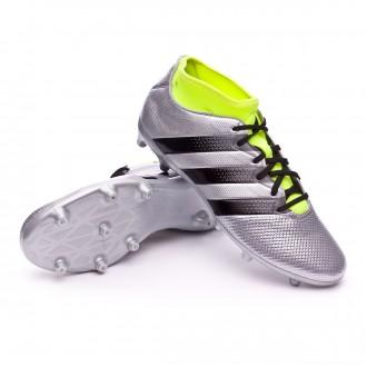 Boot  adidas Ace 16.3 Primemesh FG/AG Silver metallic-Black-Solar yellow