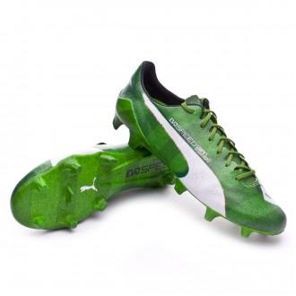Bota  Puma evoSpeed SL Grass FG Jasmine green-White