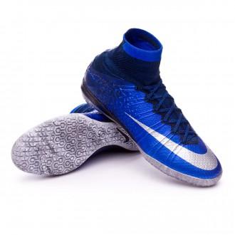 Zapatilla de fútbol sala  Nike MercurialX Proximo CR IC Natural Diamond Hyper cobalt-Black