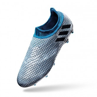 Chaussure  adidas jr Messi 16+ Pureagility Silver metallic-Black-Shock blue