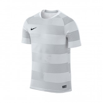 Maillot  Nike Flash Graphic 1 White-Black