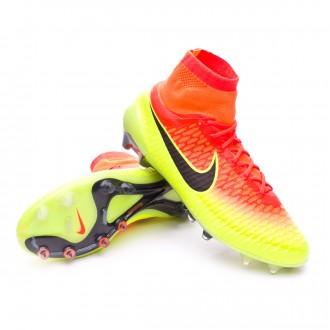 Boot  Nike Magista Obra ACC FG Total Crimson-Black-Volt-Bright citrus