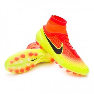 Bota  Nike Magista Obra ACC AG-R Total Crimson-Black-Volt-Bright citrus