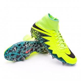 Boot  Nike HyperVenom Phantom II ACC SG-Pro Volt-Black-Hyper turquoise-Clear jade