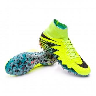 Bota  Nike HyperVenom Phantom II ACC AG-R Volt-Black-Hyper turquoise-Clear jade