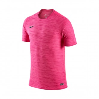 Camisola  Nike Flash Cool SS Top Vivid pink-Hyper turquoise-Hyper pink-Black