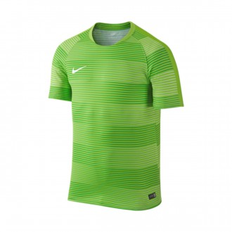 Maillot  Nike Flash Cool GPX Action green-White