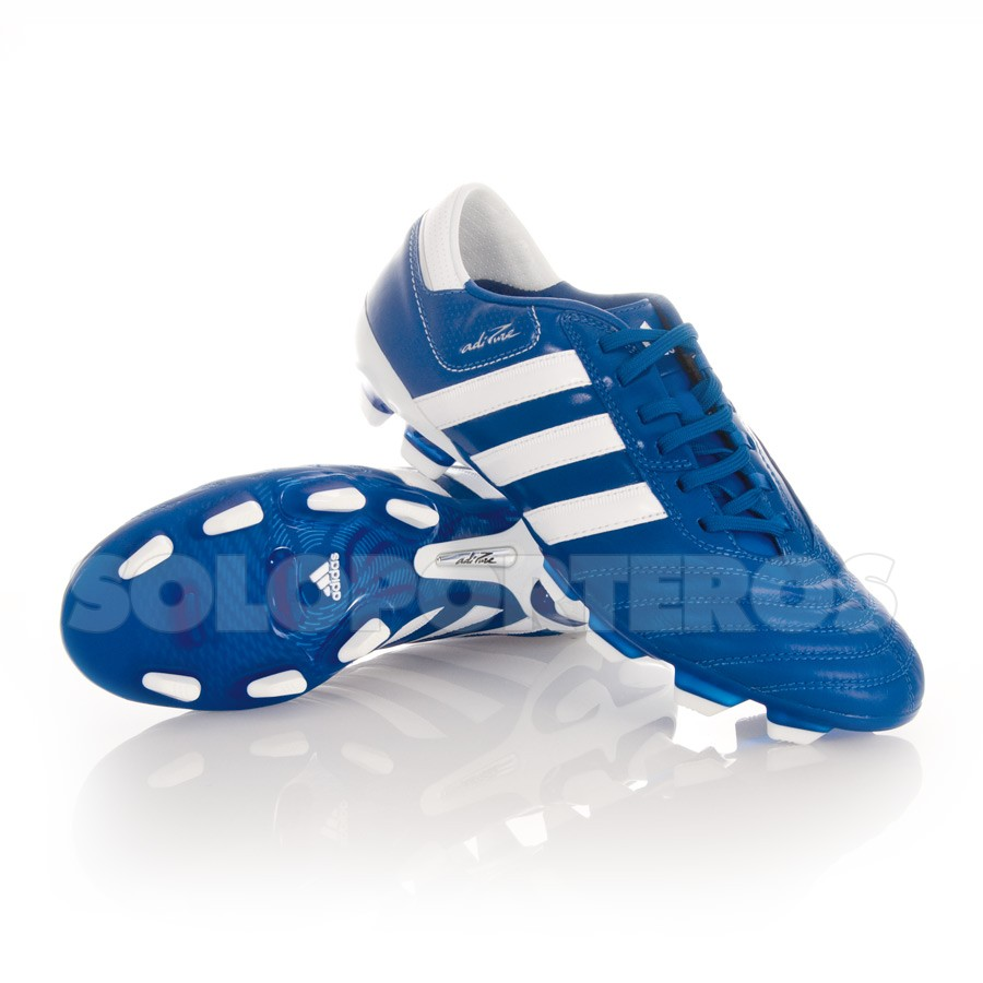 adidas adipure blancas y azules