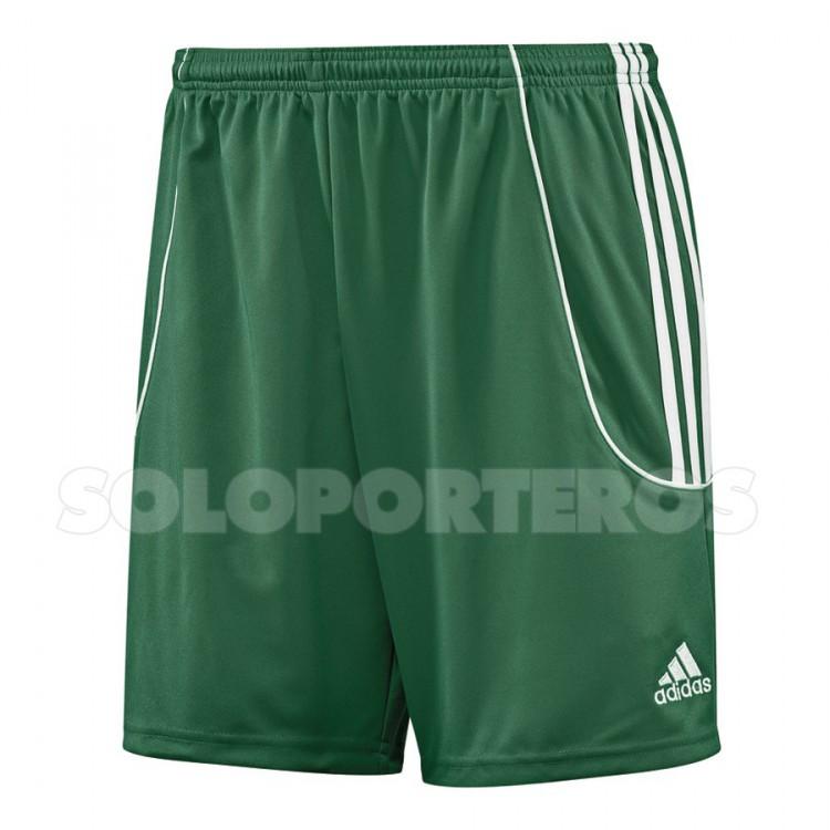 Pantalón corto Squad II Verde-Blanco - AD742136