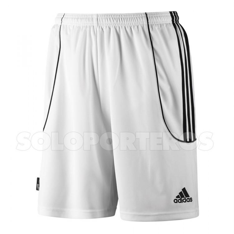 Pantalón corto Squad II Blanco-Negro - AD742140