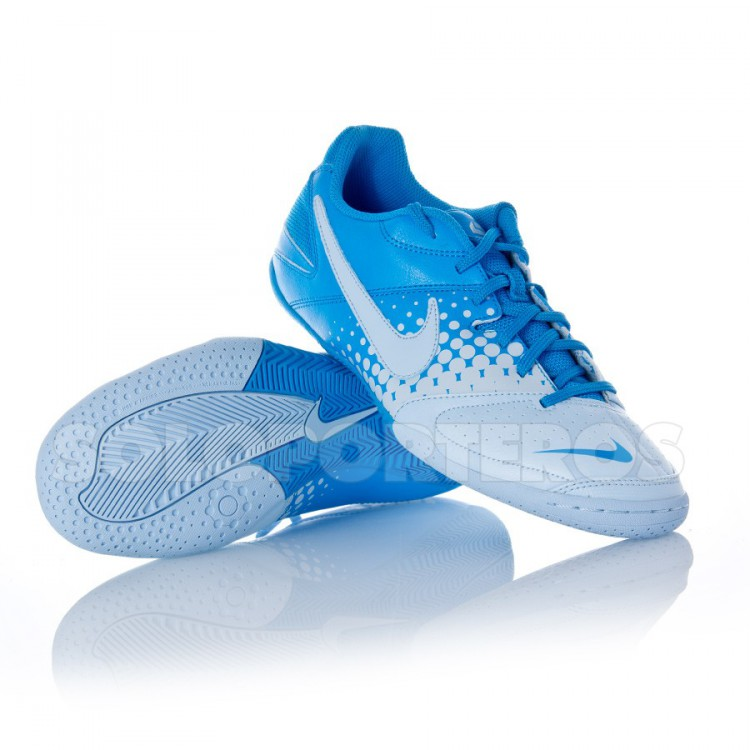 Zapatilla Nike 5 Elastico Blanca-Celeste - NI415131.444